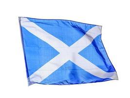 bandeira escocesa isolada foto