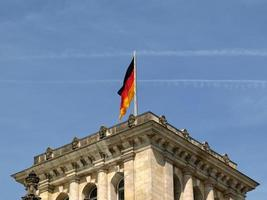 Parlamento do Reichstag em Berlim foto