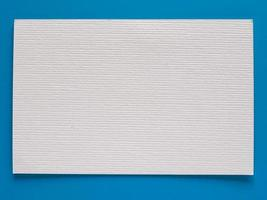 etiqueta de etiqueta de papel em branco foto