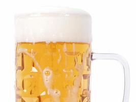 copo de cerveja alemã foto