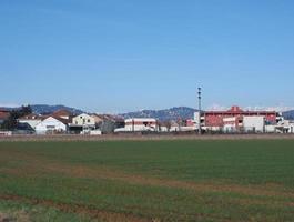 vista da cidade de chieri foto