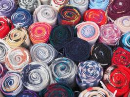 lenço de lã tartan foto
