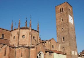 catedral de chieri, itália foto