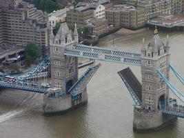 vista aérea de Londres foto