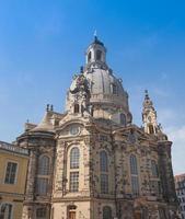 Frauenkirche em Dresden foto