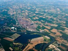 vista aérea de carignano foto