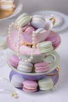 a composição sofisticada da festa do chá foto