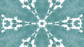 caleidoscópio de quebra-cabeças abstratos foto