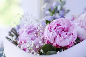 buquê de flores close-up foto