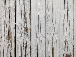 fundo de sebe de madeira velha branca foto