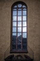 Igreja vintage histórica do cristianismo foto