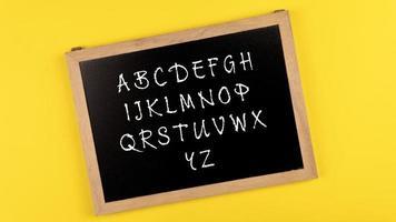 letra do alfabeto foto