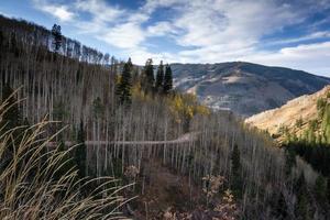 estação de esqui de vail foto