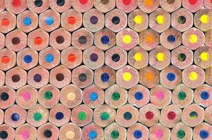 textura de lápis de cor foto