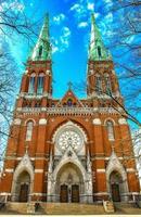 st. igreja de john. Helsinki, Finlândia. foto