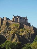castelo de edimburgo na escócia foto