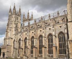 catedral em canterbury, reino unido foto
