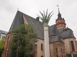 Igreja Nikolaikirche em Leipzig foto