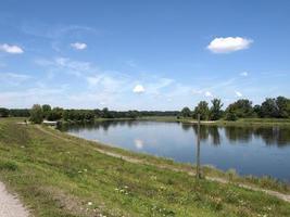rio elba em dessau, alemanha foto