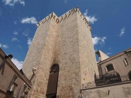 torre de elefante em cagliari foto