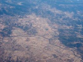 vista aérea da sardenha foto