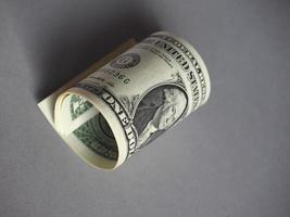 notas de dólar, estados unidos foto