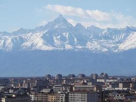 montanha monviso monte viso foto