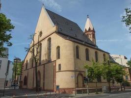 igreja de são leonardo em frankfurt foto