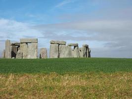 monumento stonehenge em amesbury foto