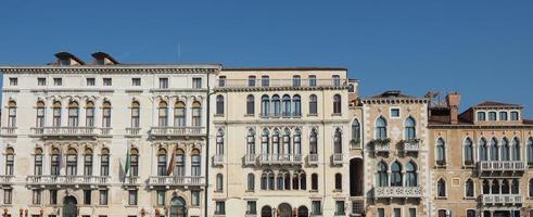 vista da cidade de veneza foto