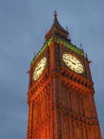 Big Ben em Londres foto