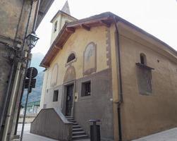 capela de são orso na aldeia de donnas foto