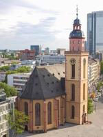 Igreja de São Paulo em Frankfurt foto