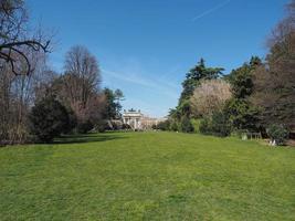 Parco Sempione em Milão foto