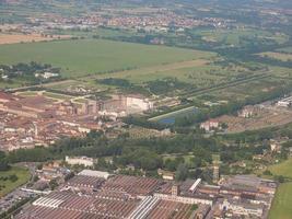 vista aérea de venaria foto