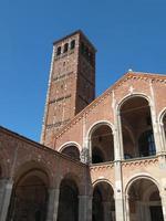 igreja de sant ambrogio, milão foto