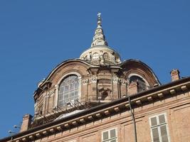 cappella della sindone, turin foto