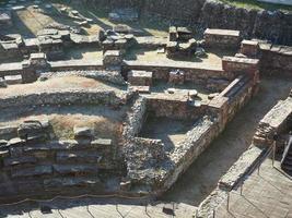ruínas do teatro romano em turin foto