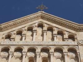 catedral santa maria em cagliari foto