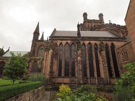 catedral de chester em chester foto