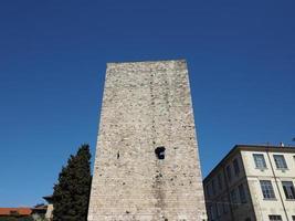 porta torre city gate em como foto