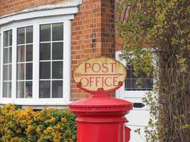 placa dos correios foto