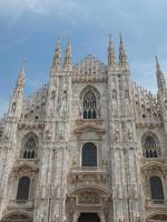 catedral duomo di milano milão foto