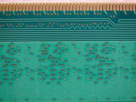 placa de circuito impresso eletrônico foto