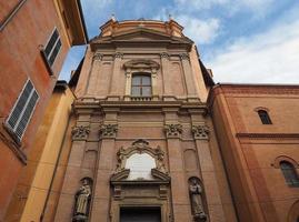 igreja santa maria della vita em bolonha foto