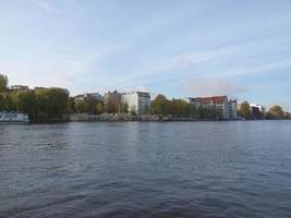 River Spree, Berlim foto
