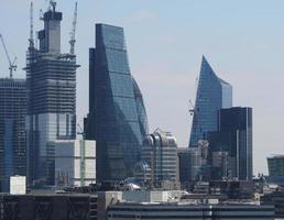 skyline da cidade de londres foto