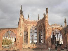 ruínas da catedral de Coventry foto