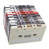 fitas cassetes isoladas foto