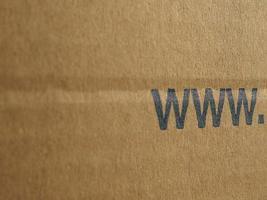 papelão ondulado marrom www foto